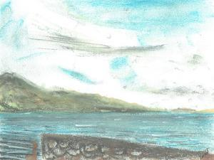 scene across from Jura, 2005 by Vincent Alexander Booth