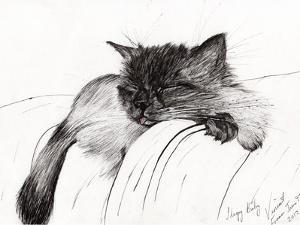 Sleepy Baby, 2013 by Vincent Alexander Booth