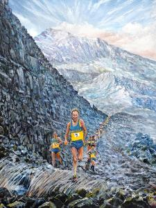 Snowdon run, 2019 by Vincent Alexander Booth