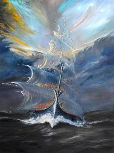 Storm Creators Beaufort Sea, 2019 by Vincent Alexander Booth