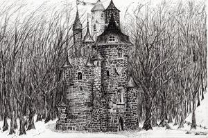 The Castle in the Forest of Findhorn, 2009 by Vincent Alexander Booth