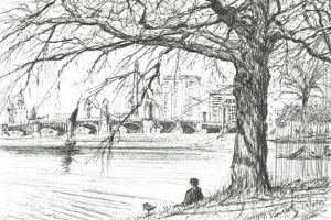 The Charles River Boston USA, 2003 by Vincent Alexander Booth