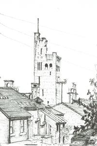 Tower in Knutsford, 2003 by Vincent Alexander Booth