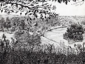 View from Ruchmond Hill, 2004 by Vincent Alexander Booth
