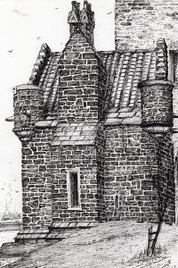 Wallace Monument,The Small House, 2007 by Vincent Alexander Booth