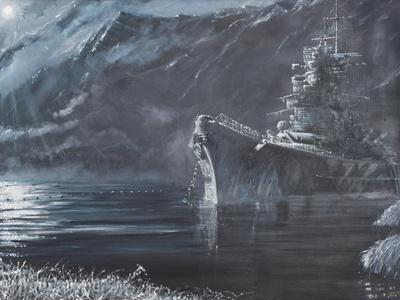 The Lone Queen of the North, Tirpitz, Norway 1944