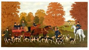 Chasse à courre à Chantilly by Vincent Haddelsey