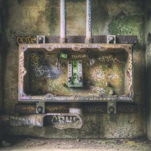 Abandoned Old Electrical Box (Square), Marin Headlands by Vincent James