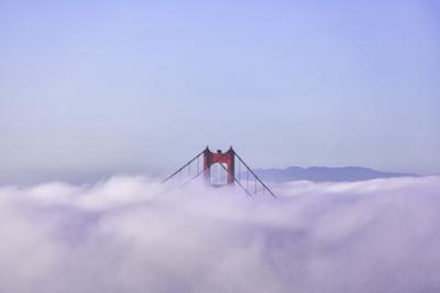 Above the Fog With Golden Gate Tower San Francisco by Vincent James