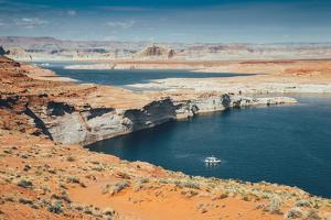 Afternoon at Lake Powell, Page Arizona by Vincent James