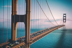 Afternoon Crossing, Golden Gate Bridge - San Francisco by Vincent James