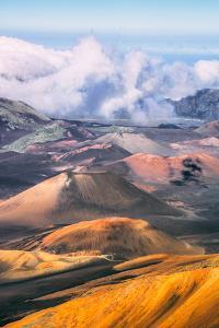 Afternoon Fog at Haleakala Crater, Maui Hawaii by Vincent James
