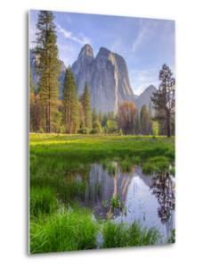 Afternoon Light at Cathedral Rocks, Yosemite Valley by Vincent James