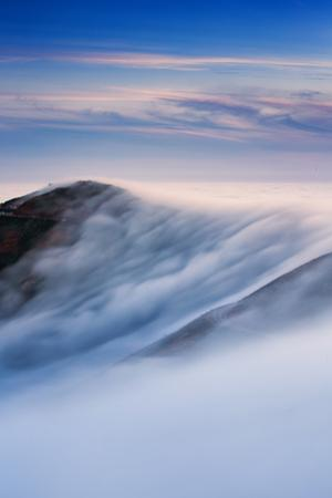 Afternoon Sweep Fog Over Marin Headlands Magic Sky San Francisco by Vincent James