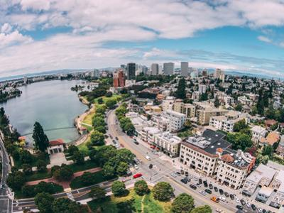 Afternoon View Over Lake Merritt, Oakland California by Vincent James