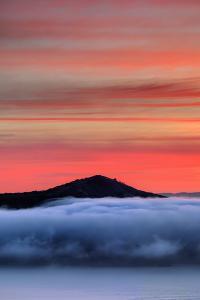 Angel Island Sunrise Fog, San Francisco Bay by Vincent James