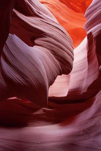 Antelope Canyon Abstract, Page Arizona Navajo by Vincent James