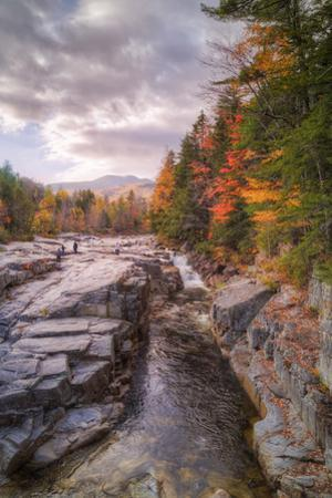 Autumn at Rocky Gorge, Kancamagus New Hampshire by Vincent James