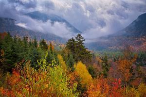Autumn Cloudscape Kancamagus Highway, New England by Vincent James