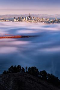 Autumn Flow Fog and Light San Francisco Bay Golden Gate Bridge by Vincent James