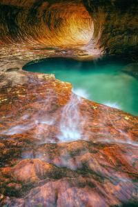 Autumn Flow - The Subway - Zion National Park, Utah by Vincent James