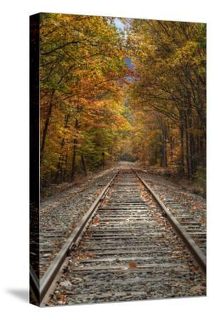 Autumn Railroad Tracks, White Mountain, New Hampshire