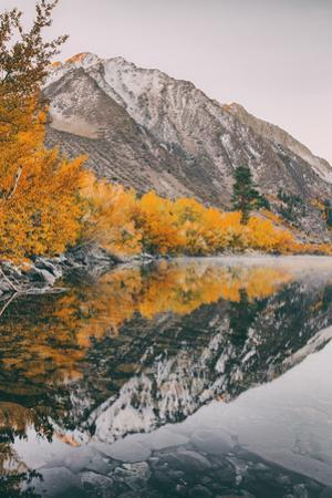 Autumn Reflection at Convict Lake, Eastern Sierras, California by Vincent James