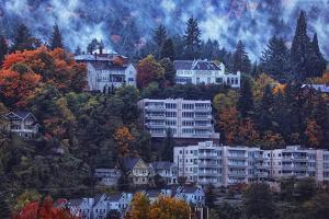 Autumn Storm Downtown Portland, Oregon by Vincent James