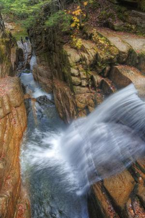 Awesome Sabbaday Falls, White Mountain New Hampshire by Vincent James