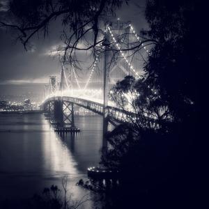 Bay Bridge, All Dressed Up, San Francisco by Vincent James