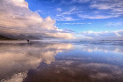 Beach Cloud Walk, Cannon Beach, Oregon Coast by Vincent James