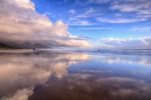 Beach Cloud Walk, Cannon Beach, Oregon Coast by Vincent James