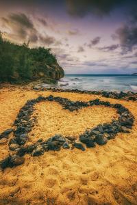 Beach Love, South Kauai, Poipu,. Hawaii by Vincent James