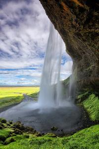 Beautiful Seljalandsfoss Morning, Southern Coast Iceland by Vincent James