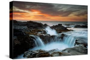 Big Island Sunset Seascape, Hawaii Magic Aloha Travel Adventure by Vincent James