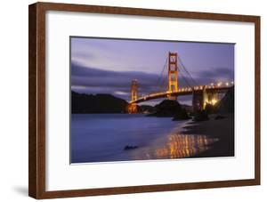 Blue Hour at Golden Gate Bridge, San Francisco California by Vincent James