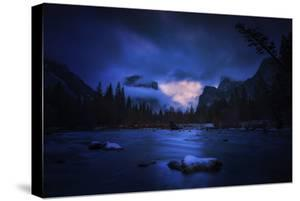 Blue Valley Mood Yosemite National Park Merced River by Vincent James