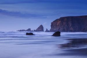 Bluesy Beach, Fort Bragg Mendocino California by Vincent James
