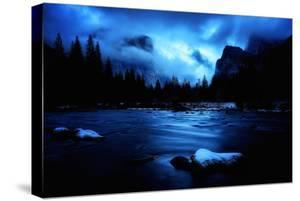 Blustery Blue Valley View Yosemite National Park California by Vincent James