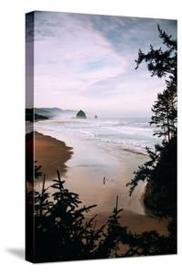 Cannon Beach Morning Walk, Oregon Coast by Vincent James