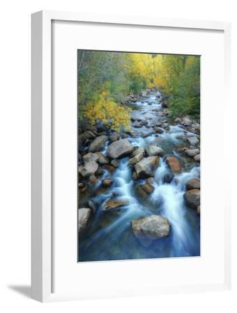 Carson River, Early Autumn Flow, Sierra Nevada by Vincent James