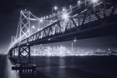 Classic Black and White Night in the City - San Francisco, California by Vincent James