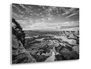 Classic Dead Horse Point in Black and White, Moab Utah by Vincent James