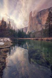Clearing Storm at El Capitan, Yosemite by Vincent James