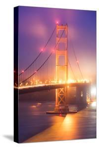 Cloud Fog Light Chaos Golden Gate San Francisco Iconic Urban by Vincent James