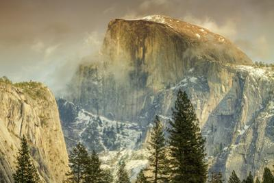 Cloud Wisps at Half Dome, Yosemite by Vincent James