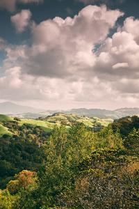 Clouds and Hills Looking East From Oakland Hills, Mount Diablo, Northern California by Vincent James