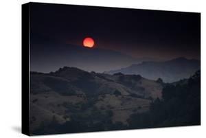 Dark Days Oakland Hills Smoky Sunrise Summer Heat Bay Area by Vincent James