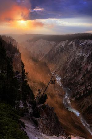 Daybreak Grand Canyon Sunrise Light Wyoming Yellowstone by Vincent James