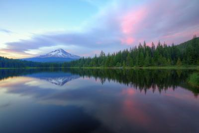 Days End at Trillium Lake, Mount Hood by Vincent James